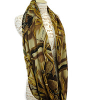Real Tree Scarf Wetlands Camo Infinity Camouflage Dynasty