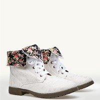 Lace Combat Boots | Fashion Boots | rue21