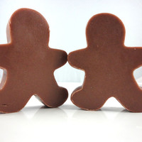 Gingerbread Man Soap - Holiday Christmas Soap - Stocking Stuffer