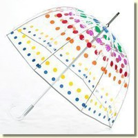 Totes Luggage Bubble Umbrella/Multicoloured