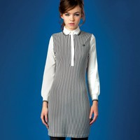 Fred Perry - Liquorice Stripe Shirt Dress