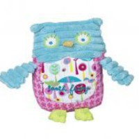 Girl Owl Tooth Fairy Pillow