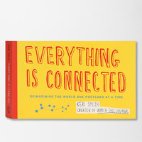 Everything Is Connected: Reimagining The World One Postcard At A Time By Keri Smith - Urban Outfitters