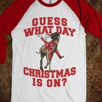 GUESS WHAT DAY CHRISTMAS IS ON?