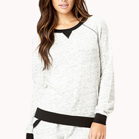 Cozy Heather Sleep Sweatshirt