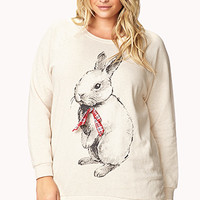 Eye-Catching Rabbit Sweatshirt