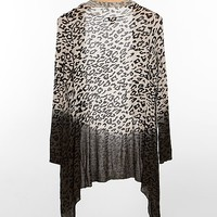 Daytrip Ombre Animal Print Cardigan