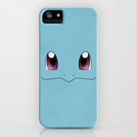 #007 Squirtle - Minimal Pokemon Art iPhone & iPod Case by Jorden Tually Art