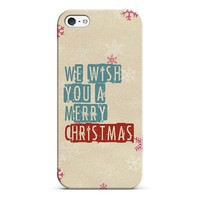 we wish you a merry Christmas iPhone & iPod case by Sylvia | Casetagram