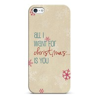 all I want for Christmas iPhone & iPod case by Sylvia | Casetagram