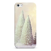 white Christmas trees iPhone & iPod case by Sylvia | Casetagram