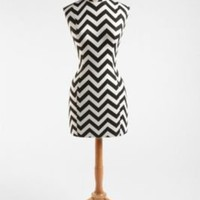 Zig Zag Wood Base Dress Form