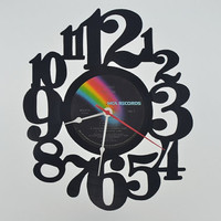 Music Art Unique Handmade Vinyl Record Clock (artist is Elton John)