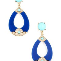Teardrop Dangle Earrings - Kely Clothing