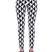 Acute Angles Graphic Pants - PLASTICLAND