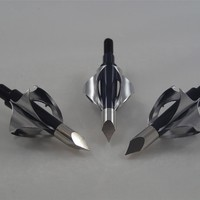 TOXIC Broadhead 100grn 3 pack for archery bowhunting arrows
