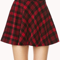 Favorite Plaid Skater Skirt