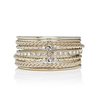 Lulu Diamante Bangle Set - Forever New