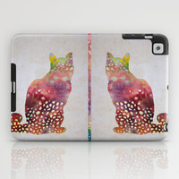 cat iPad Case by rysunki-malunki