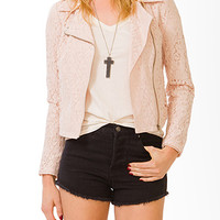 Darling Lace Moto Jacket