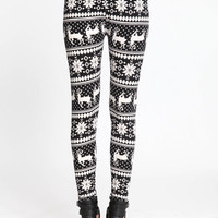 REINDEER HOLIDAY LEGGINGS