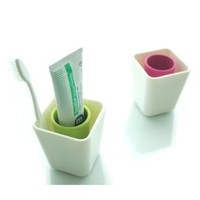 Amazon.com: Simple Toothbrush Holder, Pink: Home & Kitchen