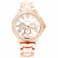 Play Pyramid Jeweled Boyfriend Watch - GoJane.com