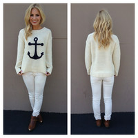 Anchor Love Knit Sweater