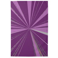 Purple Vanishing Point Kitchen Towel