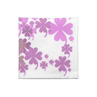 Charming Purple Coctail Napkins Set of 4