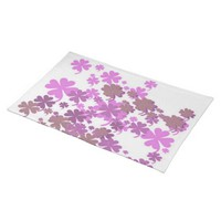 Charming Purple Placemat