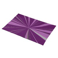 Purple Vanishing Point Placemat