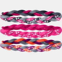 Women's UA Braided Mini Headbands - 3pk