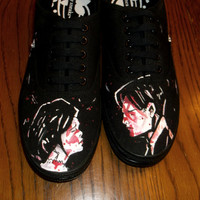 My Chemical Romance Shoes    Hand Painted