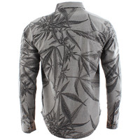 10deep Division Long Sleeve Shirt - Heather Grey at Urban Industry