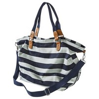 Mossimo Supply Co. Varsity Stripe Carry All - Blue/Gray