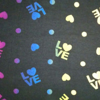 Snuggle Flannel Fabric-Wild Love at Joann.com