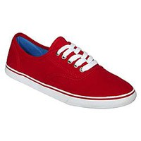 Bongo Women's Casual Canvas Shoe Caddy - Red