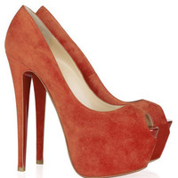 Christian Louboutin Highness 160 suede pumps