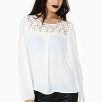 Ladakh Daisy Dreams Embroidered Top
