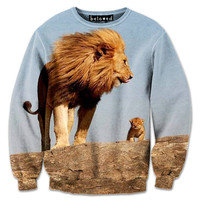 King and Cub Sweatshirt