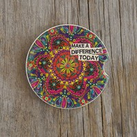 Car Coasters From Natural Life