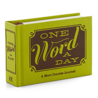 One Word a Day Journal | Mod Retro Vintage Books | ModCloth.com