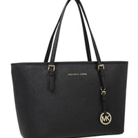 MICHAEL Michael Kors Jet Set Saffiano iPad Travel Tote