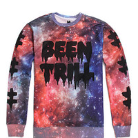 Been Trill Cosmic Trill Long Sleeve Crew Fleece at PacSun.com