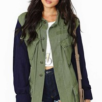 After Party Lionheart Vintage Army Jacket
