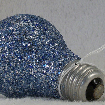 FREE Glitter Light bulb - Write your Own MESSAGE - Bright Idea - Pay it Forward - Act of Kindness