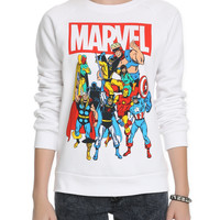 Marvel Group Girls Crewneck Sweatshirt