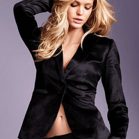 Velvet One-button Jacket - Victoria's Secret