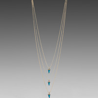 Lionette by Noa Sade Avish Layered Necklace in Blue
